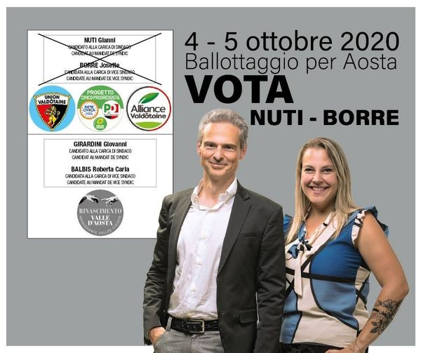 VOTA Gianni Nuti e Josette Borre