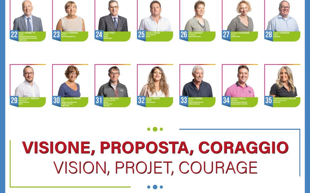 Visione, proposta, coraggio