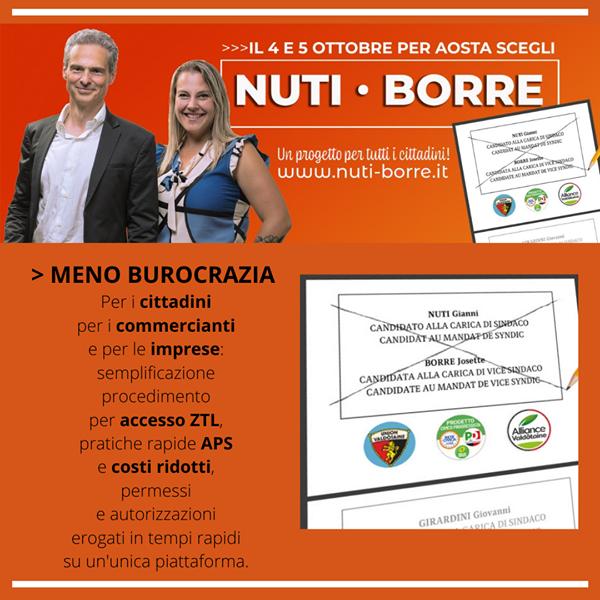 Aosta: Meno burocrazia