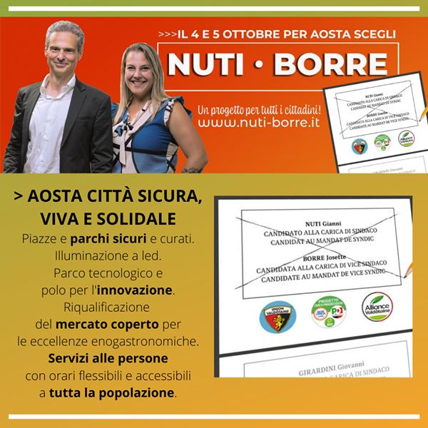 Aosta: città sicura, viva e solidale