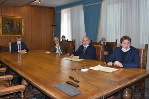Il Governo regionale ha incontrato i vertici dell'ANAS