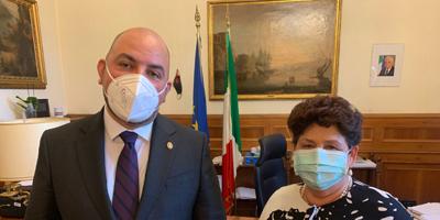 L'Assessore Carlo Marzi ha incontrato la Vice Ministra Teresa Bellanova