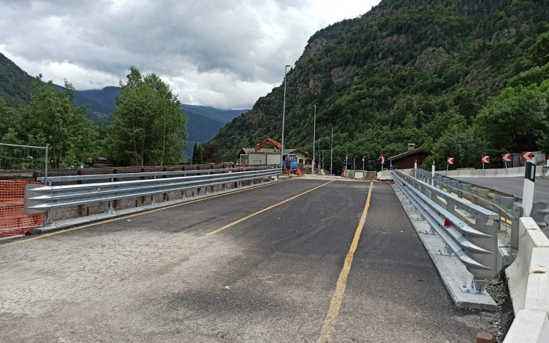 Aperto il nuovo ponte nel Comune di Issime